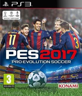 Pes 17 Ps3 Pro Evolution Soccer Playstation 3 Original
