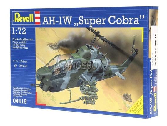 Kit Para Montar Helicóptero Ah-1w Super Cobra Revell 1:72