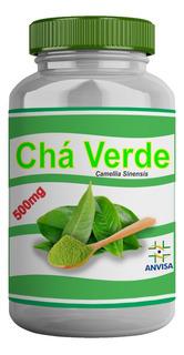 Chá Verde (12 Potes Com 60 Cáps Por Pote)
