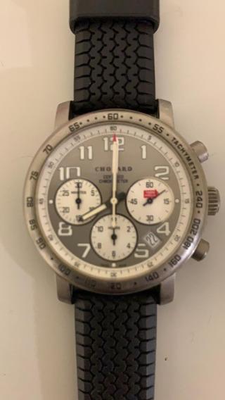 Relógio De Pulso Chopard Mille Miglia Titanium Racing Silver