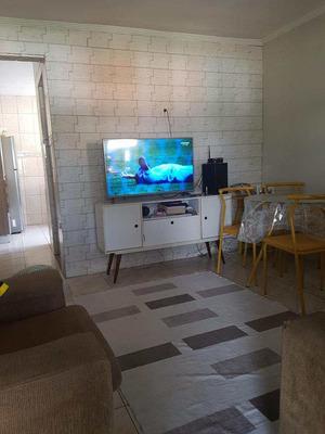 Casa Humaitá São Vicente , 02 Drms Com Edícula, R$135.000,00. - V1252
