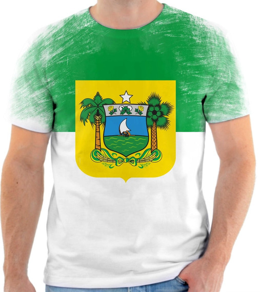 Camiseta, Camisa Bandeira Do Estado Do Rio Grande Do Norte
