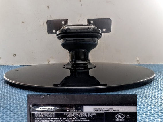 Base, Pedestal Para Monitor Samsung 2232bw Plus ( Usada )