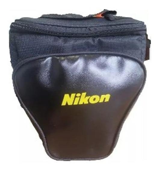 Bolsa Triangulo Nikon Para Cameras Dslr Kit Com 4 Unidades