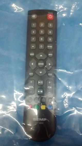Controle Remoto Tv Semp Original Ct6800