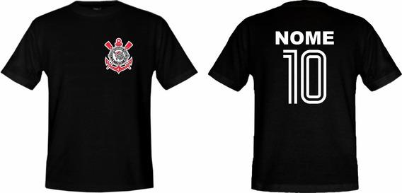 Camiseta Adulto Personalizada Do Corinthians !