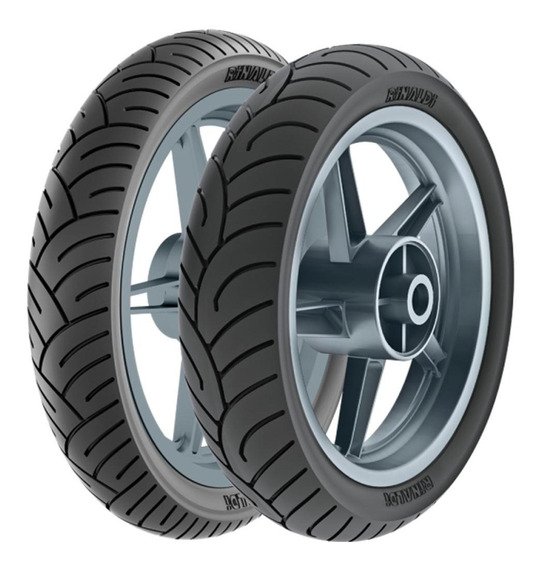 Par Pneu 130/70-17 Hb37 + 100/80-17 Hb37 Twister Fazer
