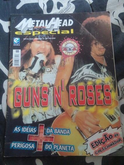 Revista Guns N Roses - Usada