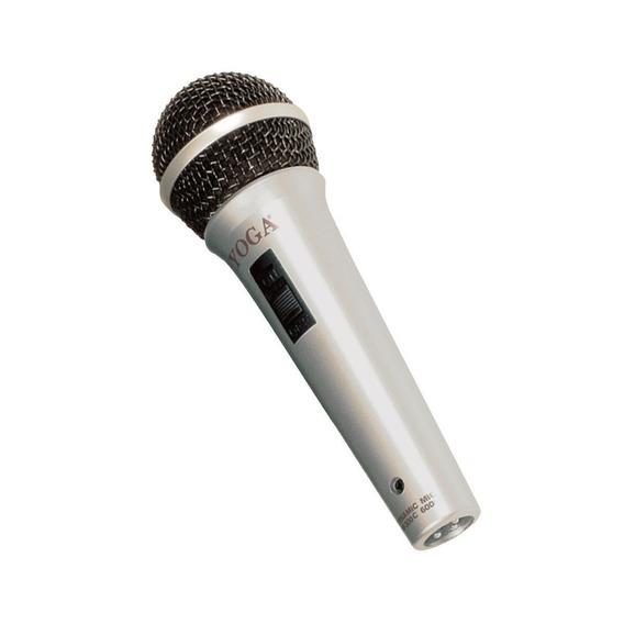 Microfone C/ Fio De Mão Dinâmico - Dm 300 C Yoga