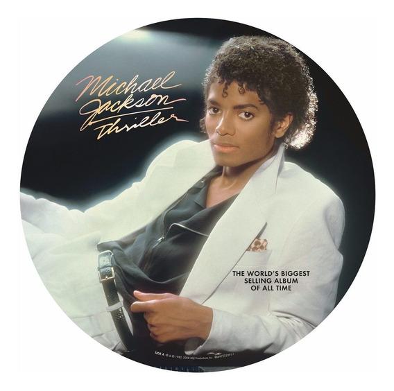 Michael Jackson Thriller Picture Disc Vinilo Nuevo Import