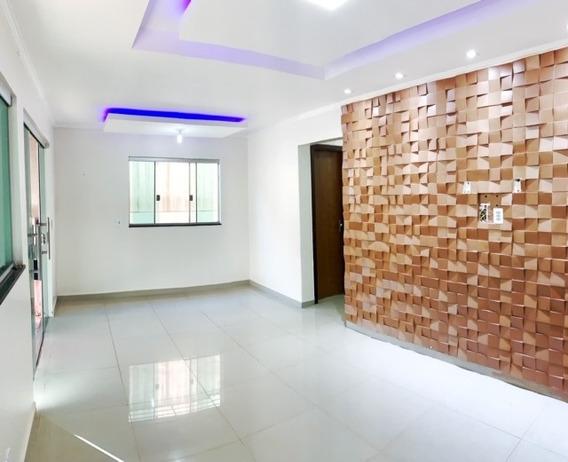 Casa Com 3 Quartos - Samambaia Norte Pronta Entrega