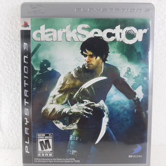 Dark Sector - Mídia Física - Ps3 - Usado - Original - Play 3