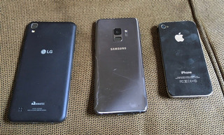 Smartphones E Tablets Para Desmanche (apple, Samsung, Lg)