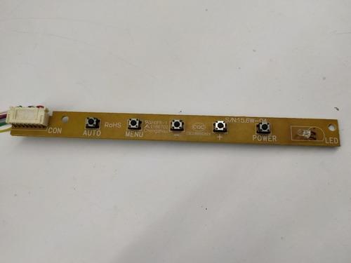 Placa Funções Menu 15.6w-04 Monitor Intelbras Lm1751w (ml131