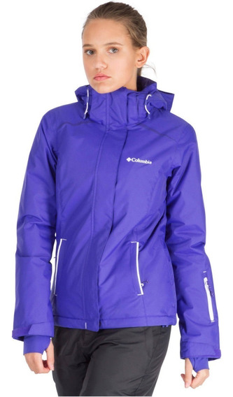 Campera Columbia Mujer Para Nieve Slope Impermeable Ski