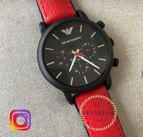 Relógio Emporio Armani Masculino Ar1971 Original C/ Garantia