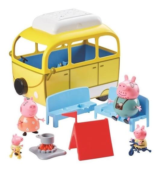 Peppa Pig Campervan Gde Dia De Camping Int 06922 La Cerdita