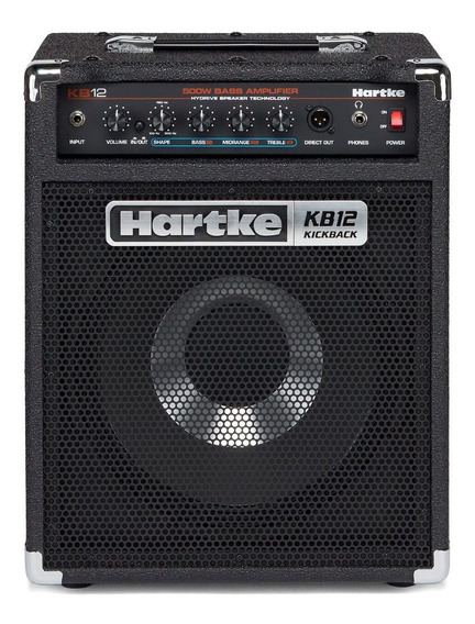 Hartke Kb12 Amplficador Combo Para Bajo 500 Watts 1 X 12