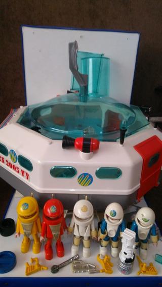 Bonecos Playmobil Space E Outros Trol 1974 D285