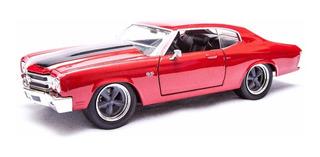 Chevelle Ss Vermelho 1970 Jada 1:24