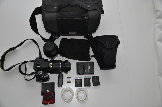 Camera Nikon D 5100 - Kit Completo - Usada- Promoção