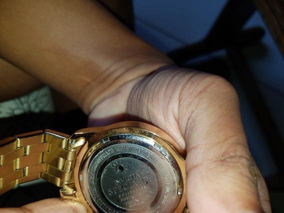 Relógio Invicta Specialty Masculino Banhado A Ouro 18k