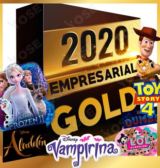 Mega Kit Empresarial Gold Frozen 2, Toy Story 4 Lol Fortnite