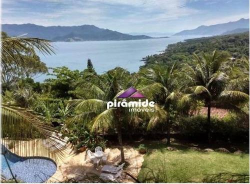 Casa À Venda, 500 M² Por R$ 4.500.000,00 - Ponta Da Sela - Ilhabela/sp - Ca5213