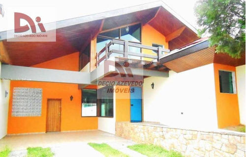Imagem 1 de 12 de Sobrado Com 3 Dormitórios Para Alugar Por R$ 5.000,00/mês - Jardim Das Nações - Taubaté/sp - So0012