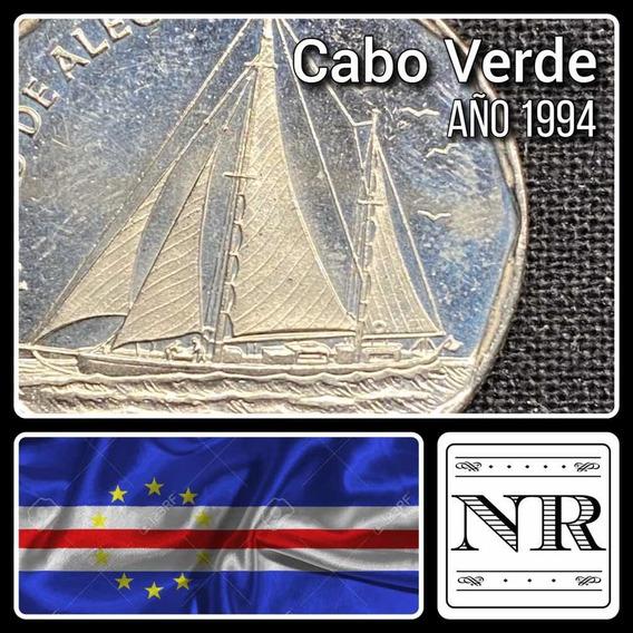 Cabo Verde - 20 Escudos - Año 1994 - Km #42 - Barco A Velas