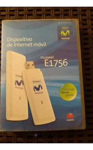 Imagen 1 de 2 de Bam Dispositivo De Internet Movil Huawei E1756 Movistar
