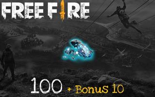 Free Fire! Recarga De 100 Diamantes Seguro