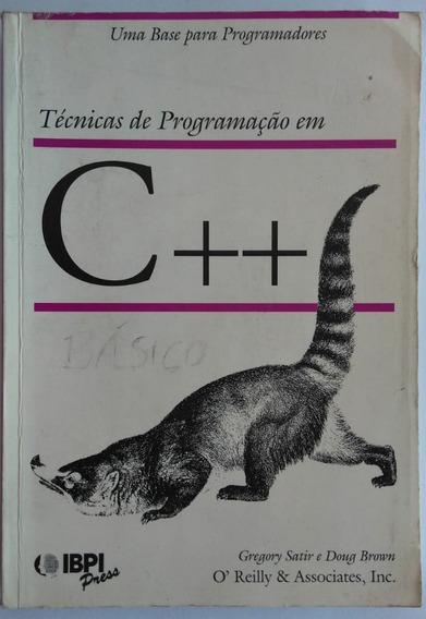 Livro: Técnicas De Programação Em C++