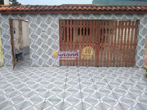 Casa Com 2 Dorms, Balneário Itaguai, Mongaguá - R$ 250 Mil, Cod: 8263 - V8263