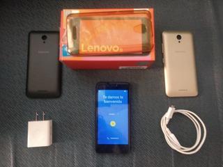 Celular Lenovo B Vibe Negro/dorado