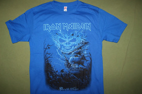 Gusanobass Playera Rock Metal Iron Maiden Ghost Navigator