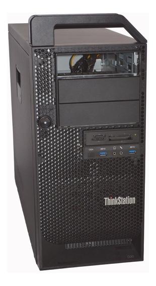 Gabinete Lenovo Thinkstation + Placa Mãe Workstation D30
