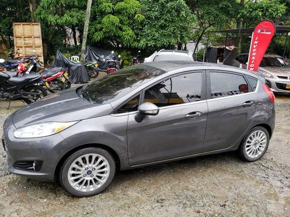 Ford Fiesta Titanium,automatico,2015,91064kms,gasolina
