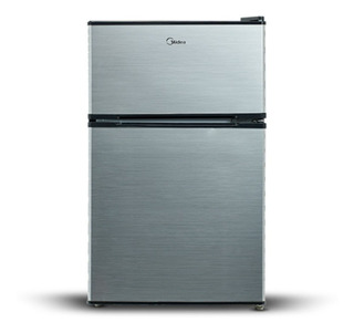 Refrigerador Frigobar Midea 3.4 Pies Con Congelador Plata
