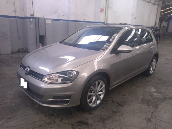 Vw Golf Comfort Paquete Sport 2015 Credito Desde 20% A 48 M
