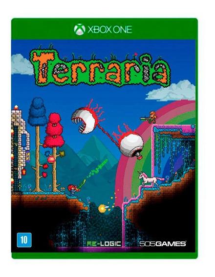 Terraria Xbox One Mídia Física Novo Lacrado