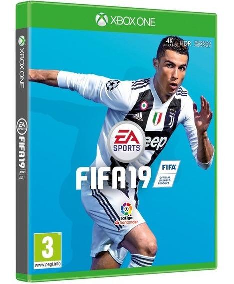 Jogo Fifa 19 Xbox One Midia Fisica Novo Original Português