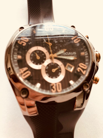 Relógio Seculus - Bronze Lindo