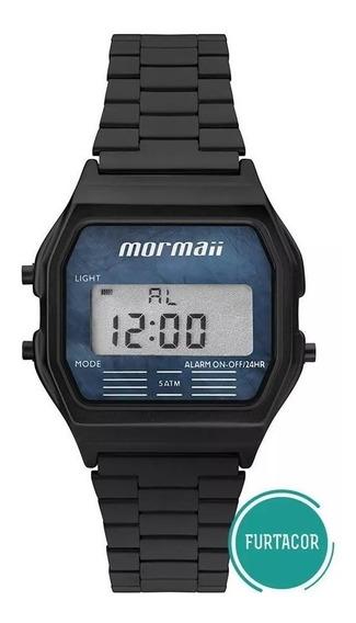 Relógio Mormaii Digital Vintage Preto Frutacor Mojh02ay/4p