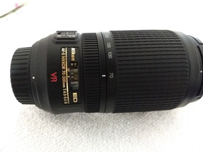 Lente Nikon Afs 70-300 + Tampas E Parasol Em Perfeito Estado