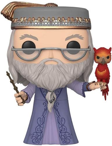 Boneco Funko Pop Harry Potter Dumbledore 10 Polegadas