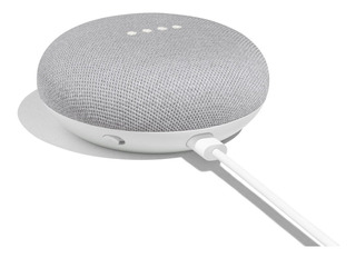Google Home Mini Blanco Con Gris