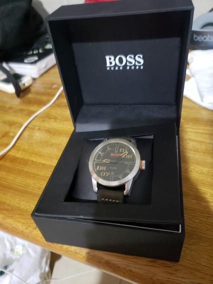 Relógio Hugo Boss Série Orange Vivara, Pulseira Em Couro