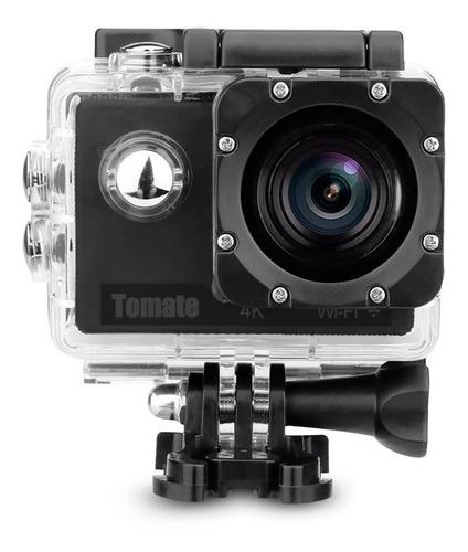 Câmera sportiva Tomate MT-1091K 4K preta