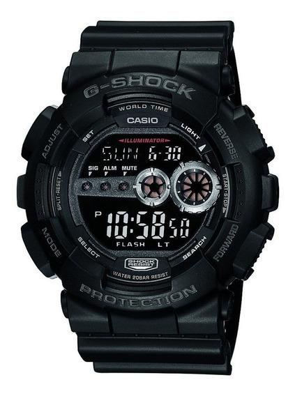 Relógio G-shock Digital Preto Gd-100-1bdr 12563